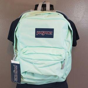 Jansport Superbreak Brooke Green/Mint Backpack
